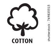 cotton vector logo | Shutterstock .eps vector #769835515