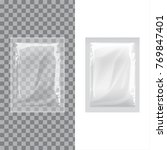 set of blank template packaging ... | Shutterstock .eps vector #769847401