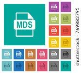 mds file format multi colored...
