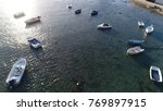aerial photo of bay with small... | Shutterstock . vector #769897915