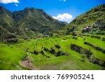 2000 year old batad rice... | Shutterstock . vector #769905241