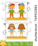 education paper crafts for... | Shutterstock .eps vector #769922881