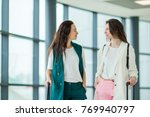 young women in international... | Shutterstock . vector #769940797