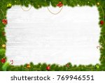 christmas holidays composition... | Shutterstock .eps vector #769946551