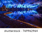 Small photo of Reed Flute Cave in China