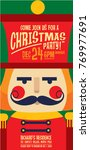 nutcracker invitation card... | Shutterstock .eps vector #769977691