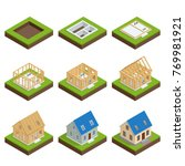 isometric set stage by stage... | Shutterstock .eps vector #769981921