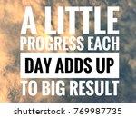 inpirational motivating quotes... | Shutterstock . vector #769987735