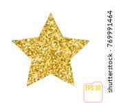 vector illustration of gold... | Shutterstock .eps vector #769991464