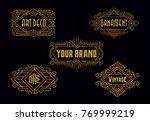 vintage badges modern