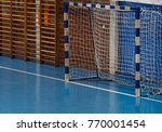 goal for futsal and handball in ... | Shutterstock . vector #770001454