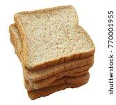 freshly whole grain bread... | Shutterstock . vector #770001955