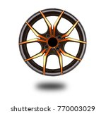 alloy wheels on white | Shutterstock . vector #770003029
