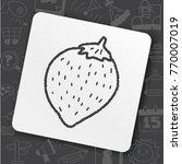 baby tool toy fruit | Shutterstock .eps vector #770007019