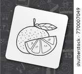 baby tool toy fruit | Shutterstock .eps vector #770007049