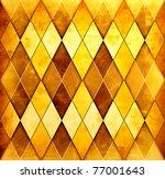 Grunge Orange Geometric...