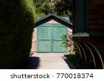 Stock photo the hp garage is a private museum where the company hewlett packard hp was founded it is located 770018374