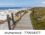 Boardwalk Along 17 Mile Drive ...
