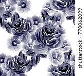 abstract elegance seamless... | Shutterstock . vector #770062099