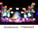 abstract defocused colorful... | Shutterstock . vector #770069665
