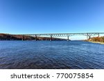 view of the poughkeepsie... | Shutterstock . vector #770075854