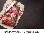 Salami  Sliced Ham  Sausage ...