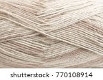 beige cotton and linen mixed... | Shutterstock . vector #770108914