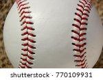 the new baseball   Shutterstock . vector #770109931