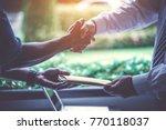 investors get money from... | Shutterstock . vector #770118037
