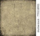 brown grunge background | Shutterstock . vector #770118901