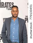"""Small photo of Hakeem Shady attends LA Premiere of """"The Pirates Of Somalia"""" at Grauman's Chinese Theatre,Los Angeles, California on December 6 2017"""