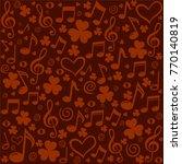 st. patrick's day background.... | Shutterstock .eps vector #770140819