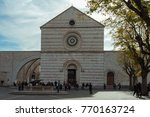assisi  italy   october 27 ... | Shutterstock . vector #770163724