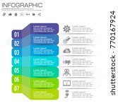 infographic design vector and ... | Shutterstock .eps vector #770167924