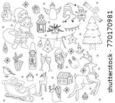 sketchy vector hand drawn...   Shutterstock .eps vector #770170981