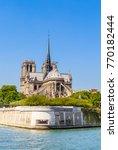notre dame de paris catholic... | Shutterstock . vector #770182444