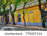 traditional colonial... | Shutterstock . vector #770207131