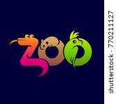 vector color logo zoo  pet shop ...   Shutterstock .eps vector #770211127