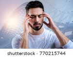 concentration. smart... | Shutterstock . vector #770215744