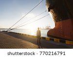 the handsome young successful...   Shutterstock . vector #770216791