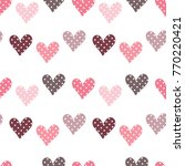 seamless pattern of hand drawn...   Shutterstock .eps vector #770220421