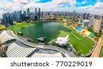 Bird Eyes View Of Singapore...