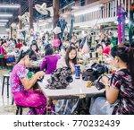 kanchanaburi  thailand   july...   Shutterstock . vector #770232439