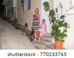 mother and daughter go on a...   Shutterstock . vector #770233765