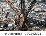 bird's eye view to autumn river ...   Shutterstock . vector #770242321