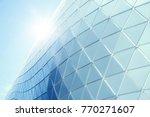 building structures aluminum... | Shutterstock . vector #770271607