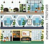 vector set of posters  banners...   Shutterstock .eps vector #770271655