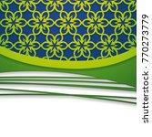 floral paper background   Shutterstock .eps vector #770273779