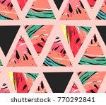 hand drawn vector abstract... | Shutterstock .eps vector #770292841