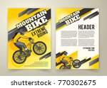vector flyer with ride on... | Shutterstock .eps vector #770302675